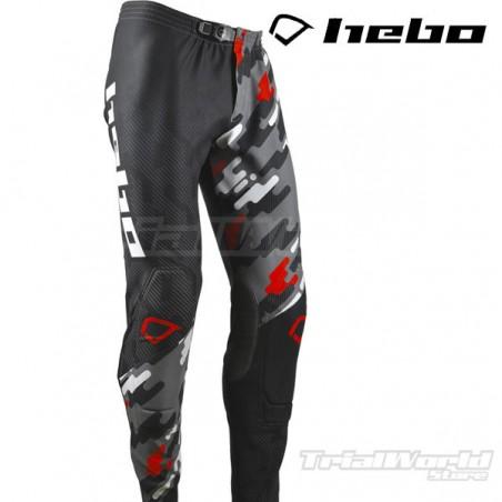 Pantalón Trial Hebo Kamu rojo