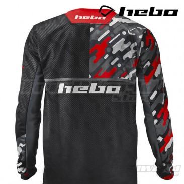 Camiseta Trial Hebo Kamu rojo