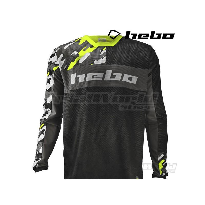 Camiseta Trial Hebo Kamu amarillo