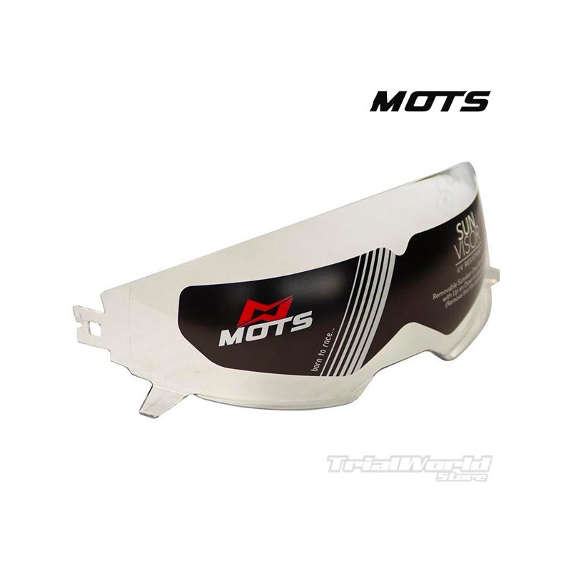 Transparent screen for Mots Jump helmet