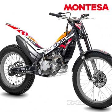 Kit adhesivos Montesa Cota 4RT REPSOL