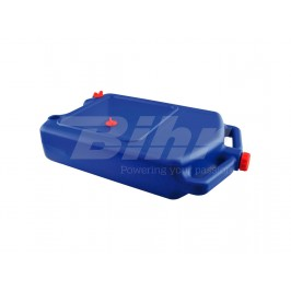 Oil drain tank for trial bikes