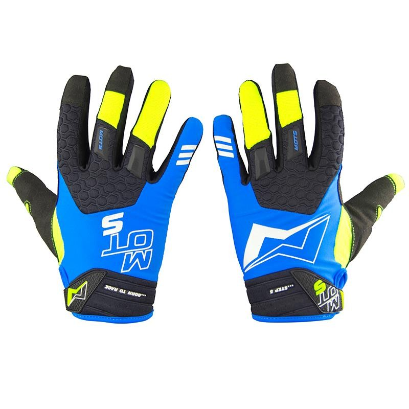 Guantes Trial MOTS Step5 azules