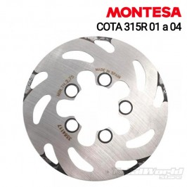Rear brake disc Montesa...
