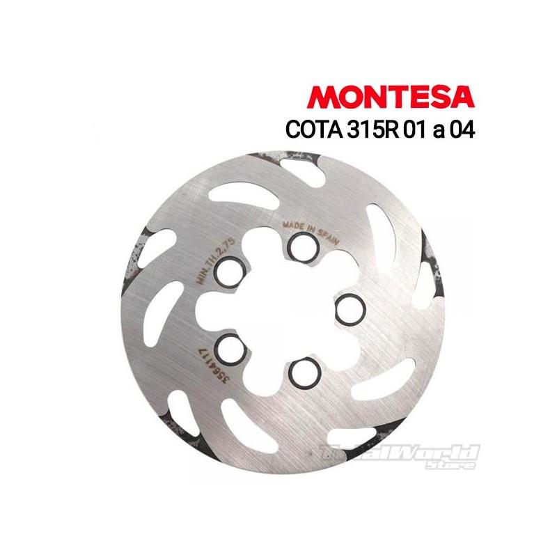 Rear brake disc Montesa Cota 315R...