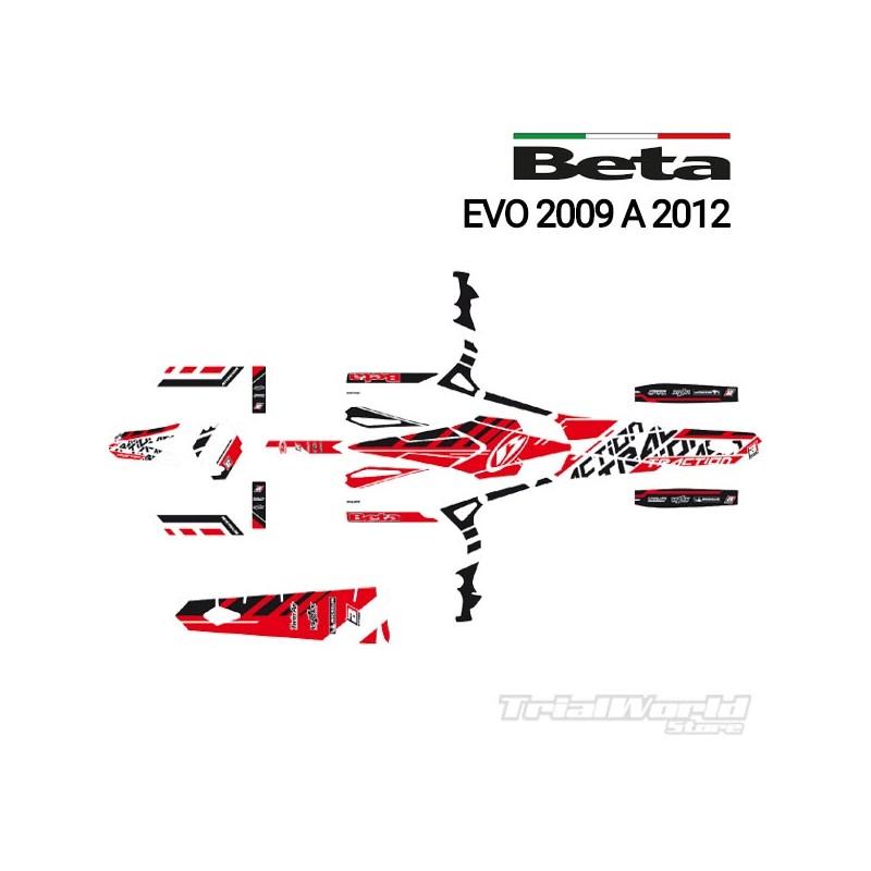 Kit adhesivos Beta EVO 2009 - 2012