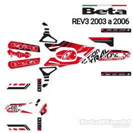 Kit adhesivos Beta REV 2003 al 2006 Blackbird