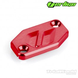 Tapa bomba de embrague roja Vertigo Racing para Braktec