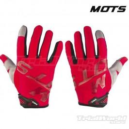 Guantes Trial MOTS Rider4 rojos