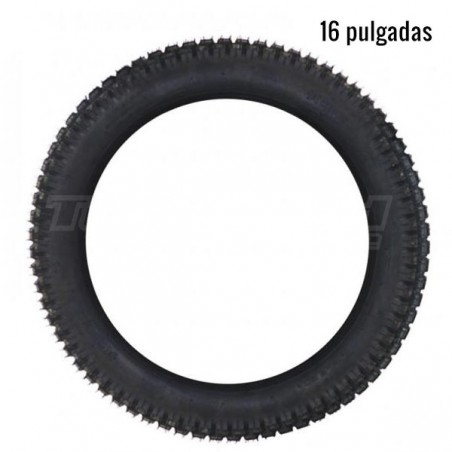 Rear tyre for electric trial bike