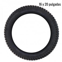 Front tyre for electric trial bike