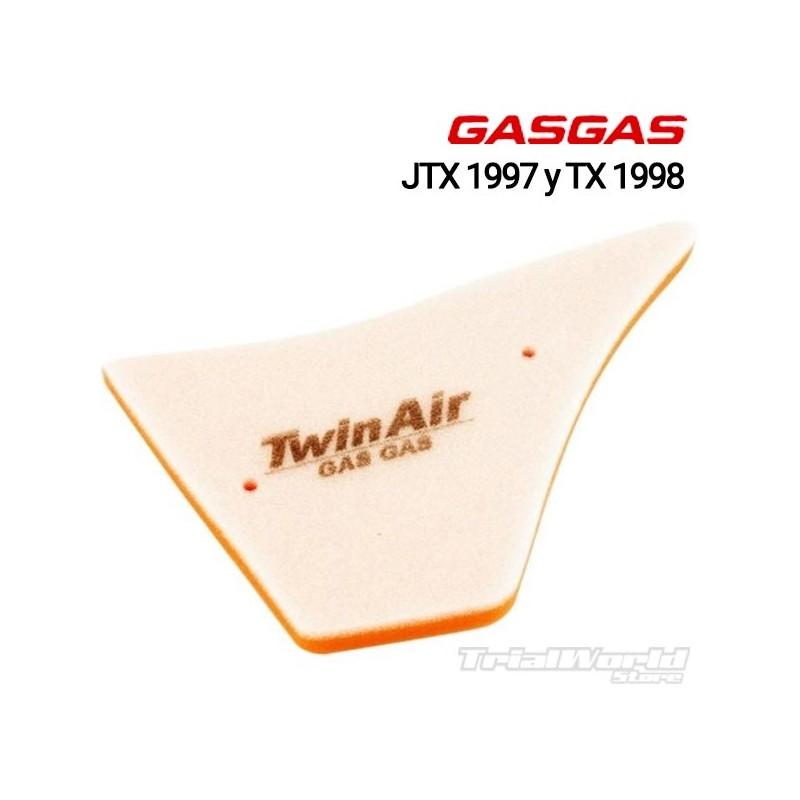 Filtro de aire Gas Gas Contact JTX 1997 y TX 1998