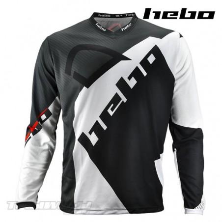 Camiseta Trial Hebo PRO 20 negra
