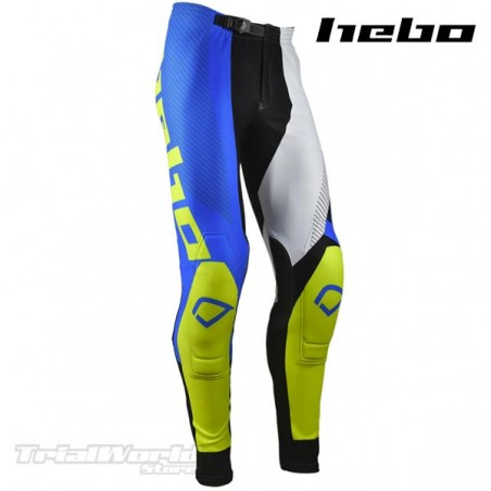 Pant Hebo PRO 20 blue and yellow