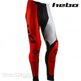 Pantalón Trial Hebo PRO 20 rojo