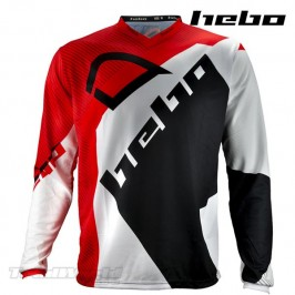 Camiseta Trial Hebo PRO 20 rojo