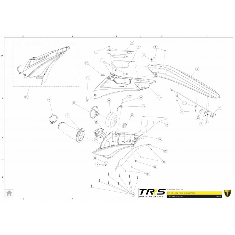 TRRS Air Filter Housing Protector