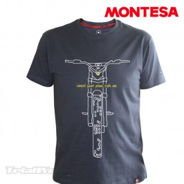 Camiseta Montesa Ride Me casual