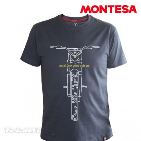 Camiseta Montesa Ride Me casual
