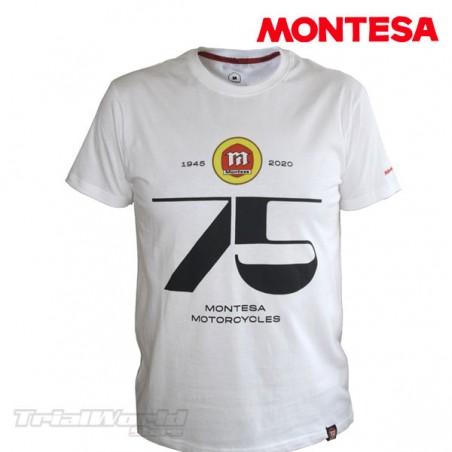 Camiseta Montesa 75 aniversario casual