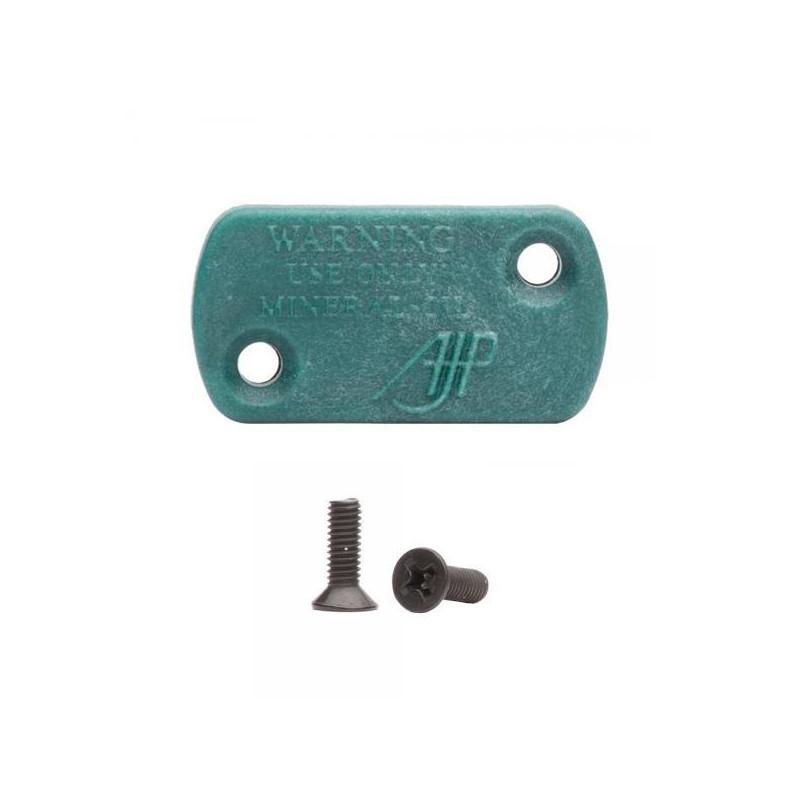 Mineral clutch pump cover small AJP pump