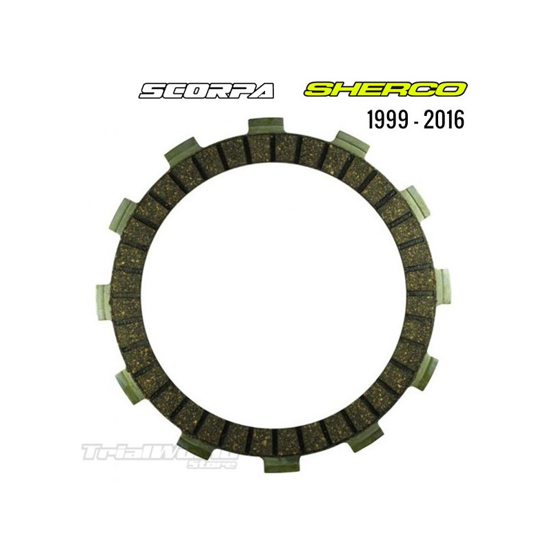 Sherco Clutch Disc KIT 1999 - 2016 / Scorpa 2015 and 2016
