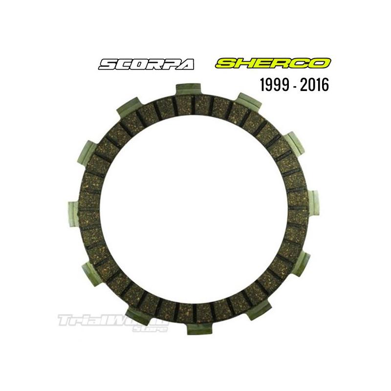 KIT discos de embrague Sherco 1999 a 2016 - Scorpa 2015 a 2016