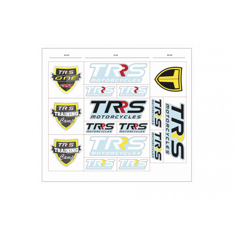 Set 16 adhesivos de TRS