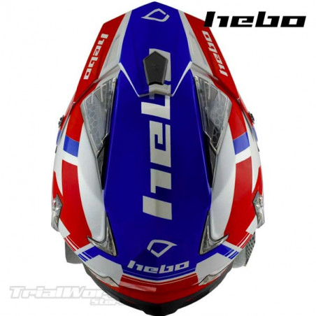 Casco Hebo Zone 4 Balance Red