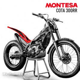Rear mudguard sticker Montesa Cota 300RR