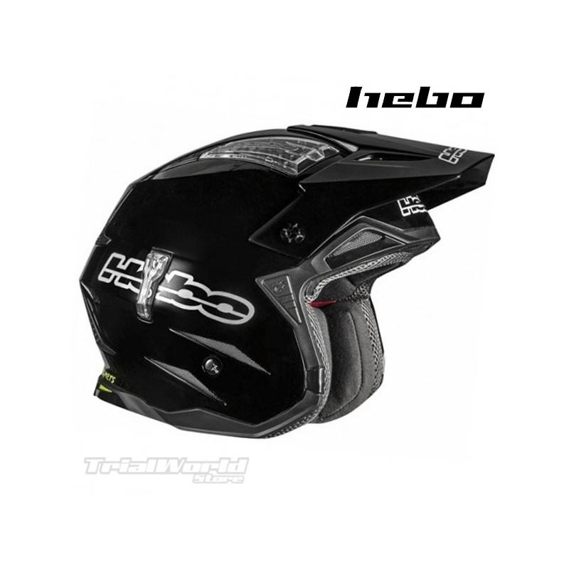 Helmet Hebo Zone4 Monocolour Black