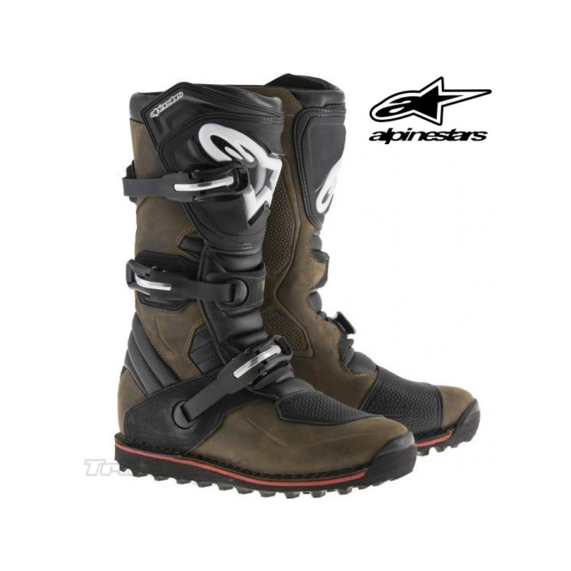 Boots Alpinestars Tech T Brown