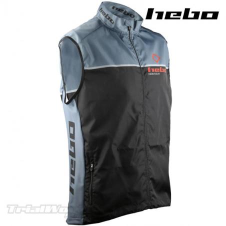 Vest Hebo Line Trial Black-Grey