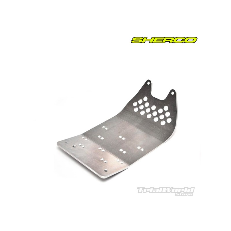 Crankcase protector trial Sherco 2010 to 2015