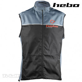 Chaleco Trial Hebo Line negro-gris