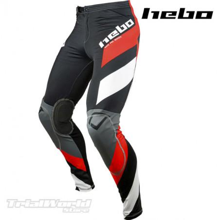 Pantalon Trial Hebo Race Pro IV Negro