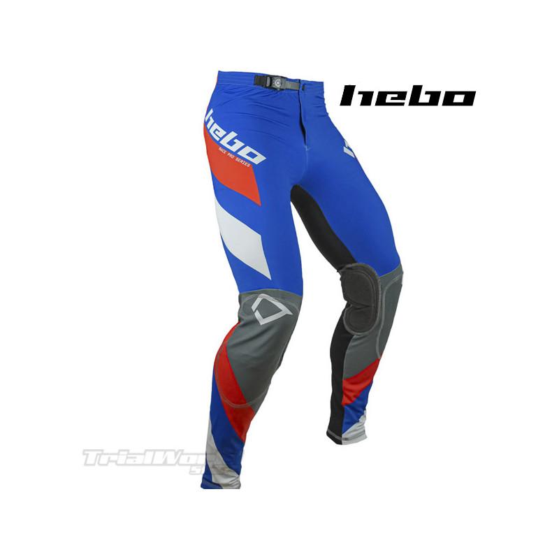 Pantalon Trial Hebo Race Pro IV Azul
