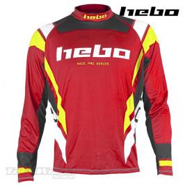 Camiseta Trial Hebo Race PRO IV rojo