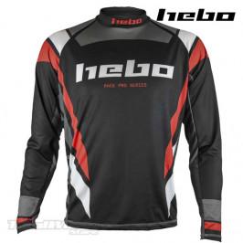 Camiseta Trial Hebo Race PRO IV negra