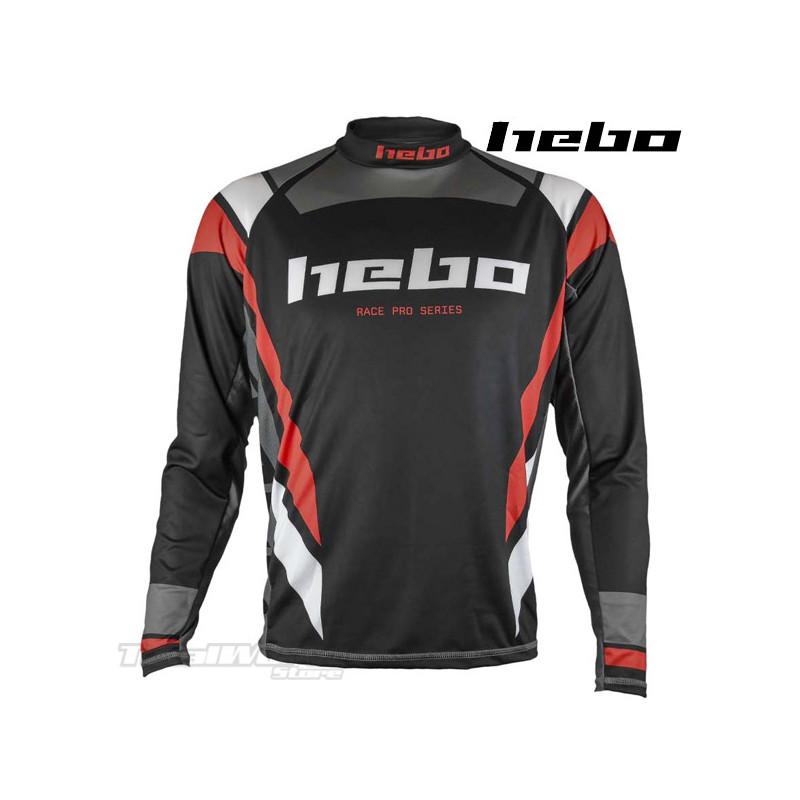 Jersey Hebo Race PRO Trial black