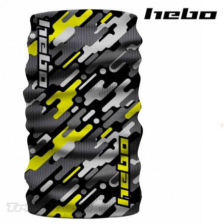 Protector de cuello Hebo Camo II amarillo