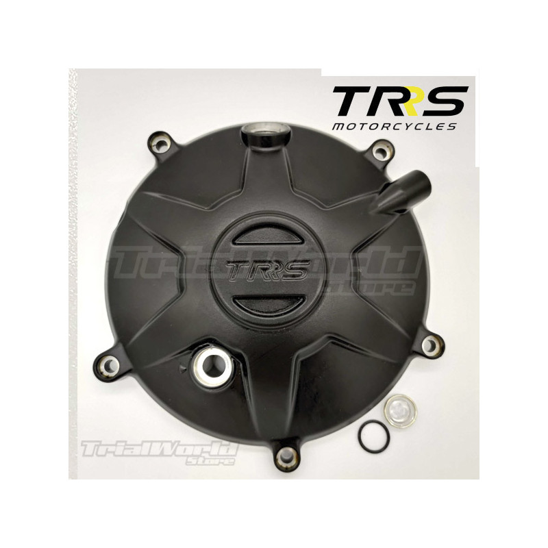 Clutch cover with TRRS sight glass