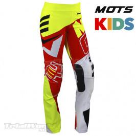 Pantalón MOTS Junior rojo Trial