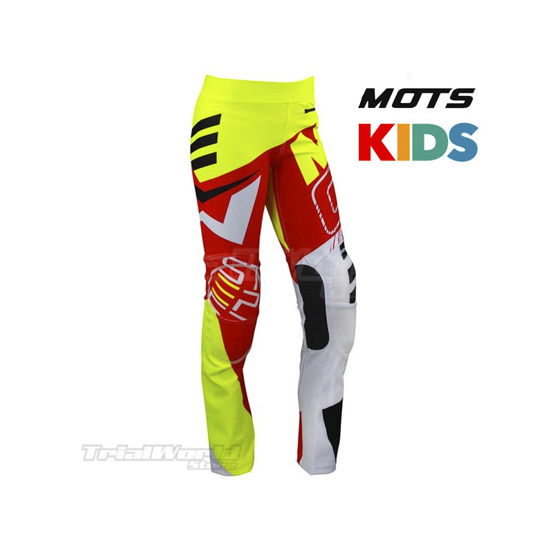 Pants MOTS Junior rojo Trial