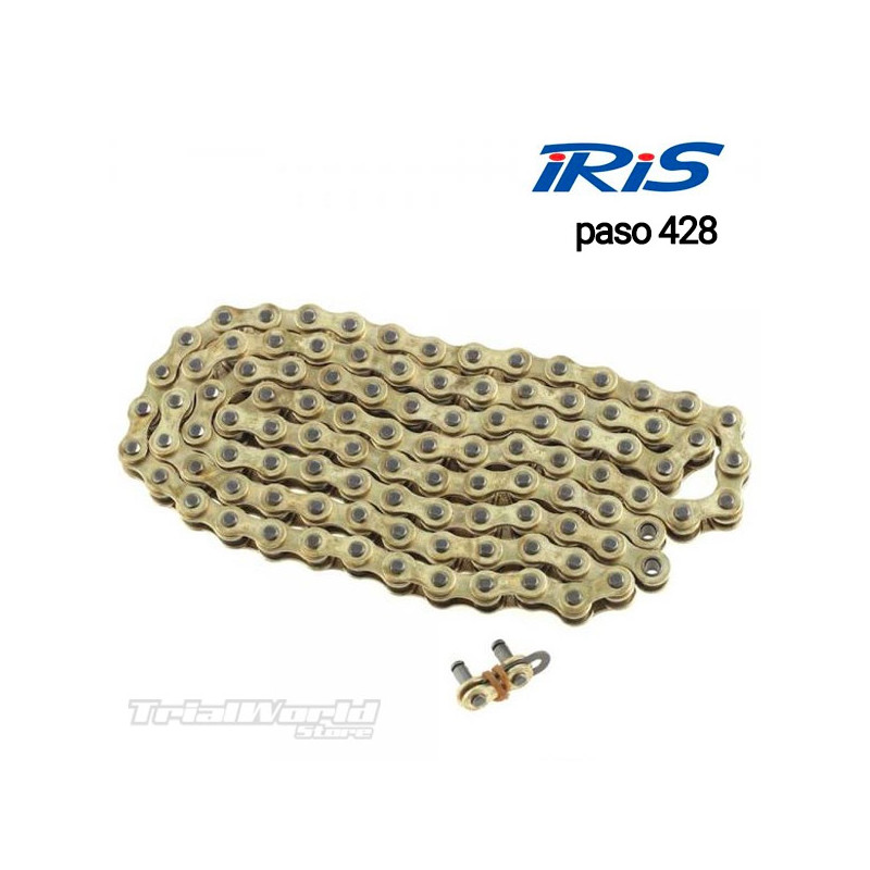 Iris 428 RXP trial bike chain