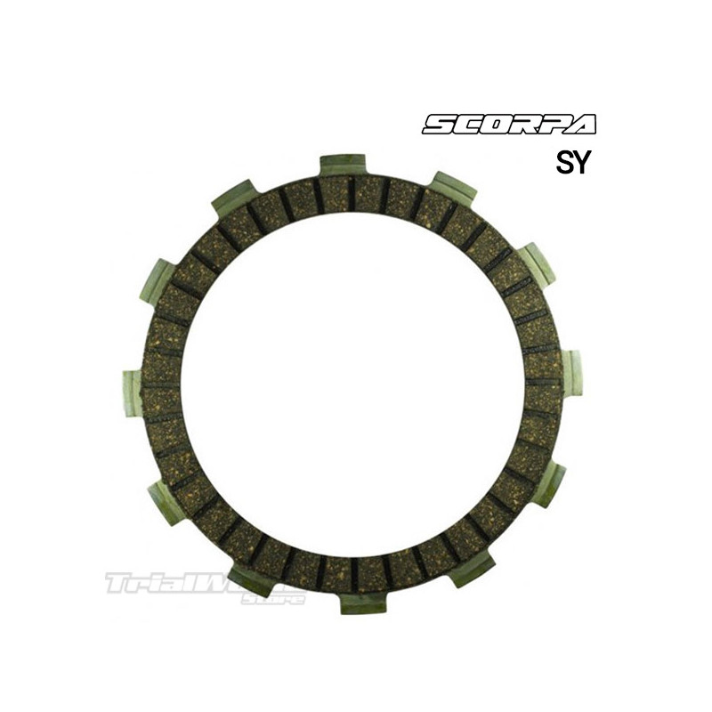 KIT discos de embrague Scorpa SY