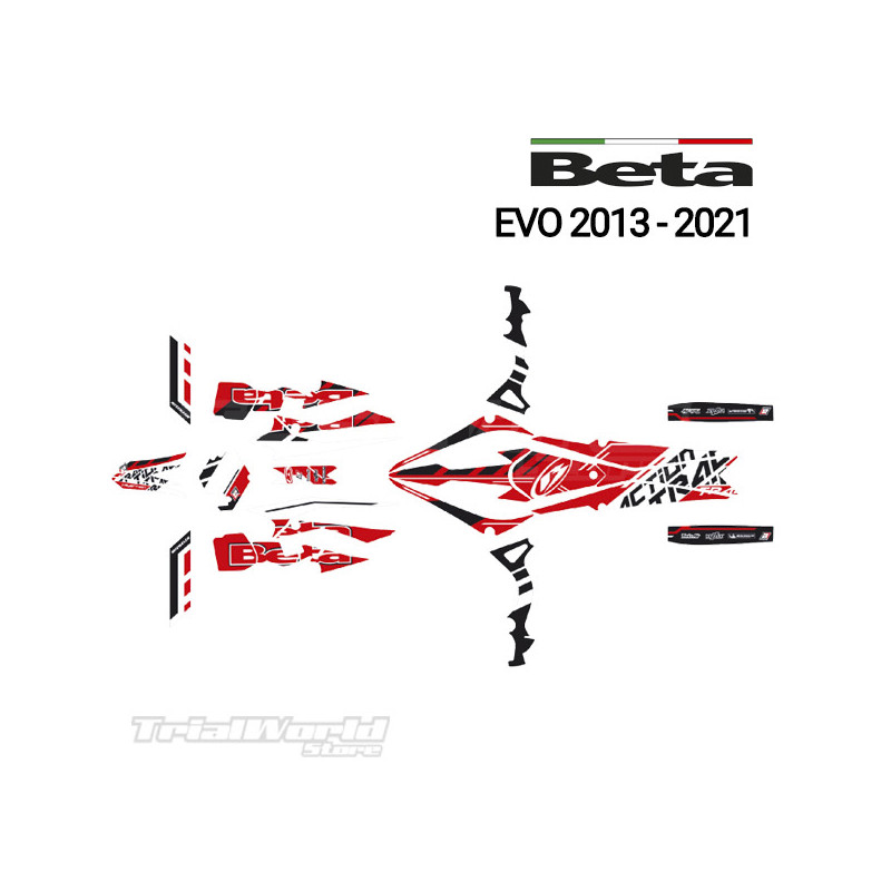 Sticker KIT decals Beta Evo 2013...