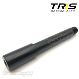 Front wheel axle for TRRS