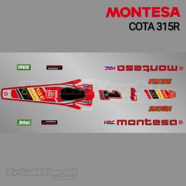 Stickers kit Montesa Cota 315R