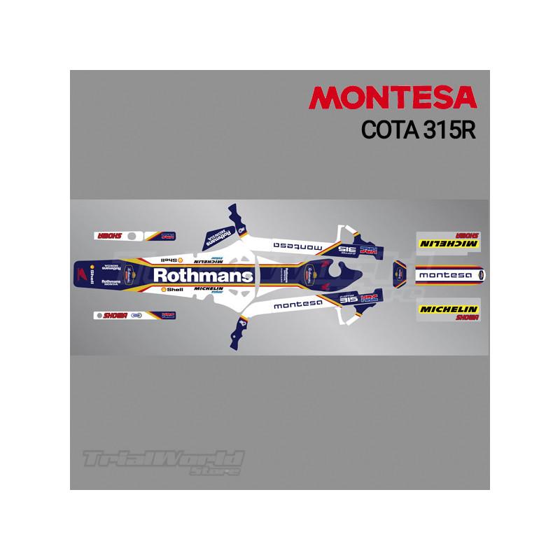 Stickers kit Montesa Cota 315R Rothmans Edition